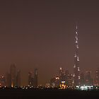 Burj Khalifa Panorama by Dan Edwards