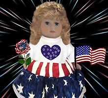 ̲̅L̲̅][̲̅I̲̅][̲̅K̲̅][̲̅E̲̅]HAPPY FOURTH OF JULY PATRIOTIC DOLL PICTURE/CARD ̲̅L̲̅][̲̅I̲̅][̲̅K̲̅][̲̅E̲̅] by ╰⊰✿ℒᵒᶹᵉ Bonita✿⊱╮ Lalonde✿⊱╮