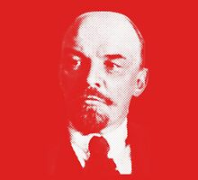 Vladimir Ilyich Lenin Classic White Portrait Shirt Unisex T-Shirt