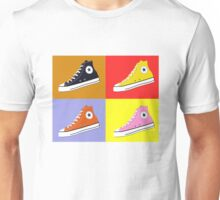 Pop Art All Star Inspired Hi Top Sneaker Unisex T-Shirt