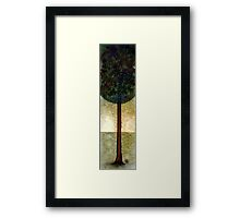 The tree of Paradise ... in autumn. Framed Print