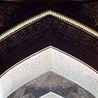 Abstract Geometry, Lotfollah Mosque, Esfahan, Iran by Jane McDougall