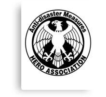 Hero Association Logo Canvas Print