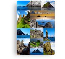 Skellig Islands Canvas Print