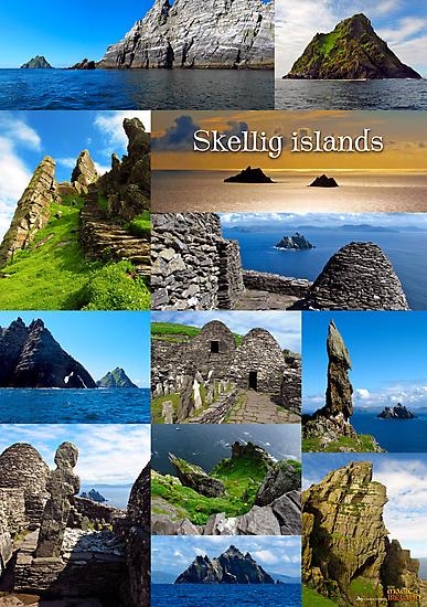 Skellig Islands by Andrés Hurtado
