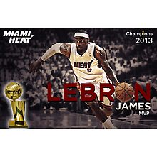 Lebron james, Champion 2013 by jsipek