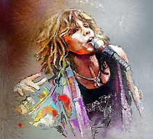 Steven Tyler 02  Aerosmith by Goodaboom