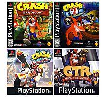 Crash Bandicoot Forever Photographic Print