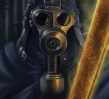 Steampunk Vader by AlisterLockhart