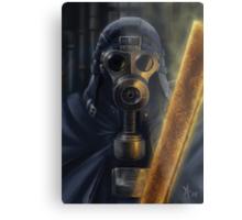 Steampunk Vader Metal Print