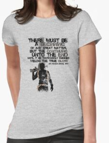 Sir Francis Drake Womens Fitted T-Shirt