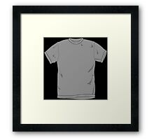 Tshirt on a Tshirt Framed Print