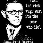 Jean-Paul Sartre by PBPhoto