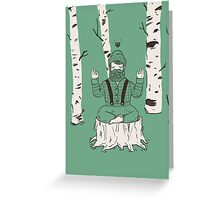 One with everything Greeting Card