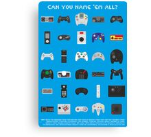Can you name 'em all? Canvas Print