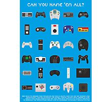 Can you name 'em all? Photographic Print