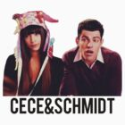 Cece and Schmidt Tee by Marrymytelly