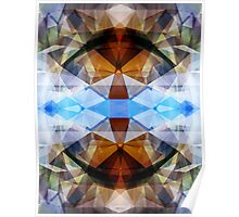 Colorful Kaleidoscope Abstract Poster