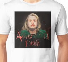 Hillary ANGRY OLD DRUNK Unisex T-Shirt