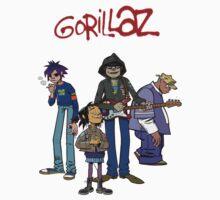 Gorillaz T-Shirt by razaflekis