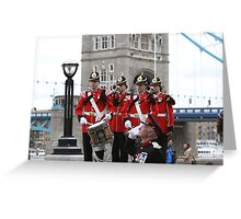 The Royal Anglian Regiment Band  Greeting Card