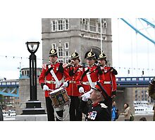 The Royal Anglian Regiment Band  Photographic Print