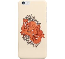 Fox Tangle iPhone Case/Skin