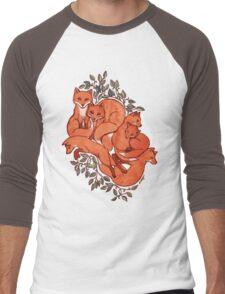Fox Tangle Men's Baseball ¾ T-Shirt