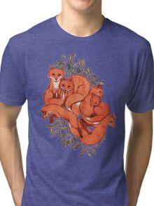 Fox Tangle Tri-blend T-Shirt