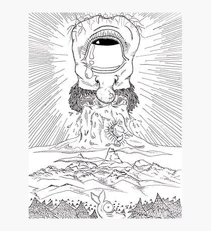 Da Cryeation . ink Photographic Print