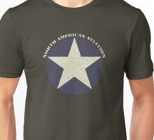 Vintage Look North American Aviation Graphic Unisex T-Shirt