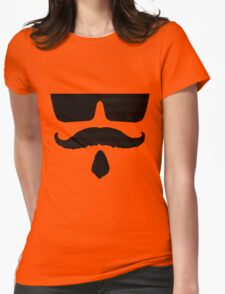 Cool Mustache 2 Womens Fitted T-Shirt