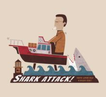 Shark Attack by Teo Zirinis