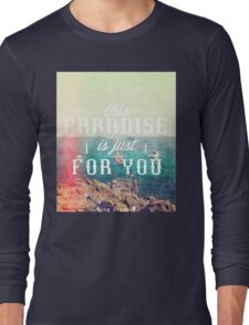 this Paradise (Scratched) Long Sleeve T-Shirt