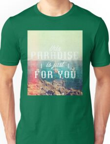 this Paradise (Scratched) Unisex T-Shirt
