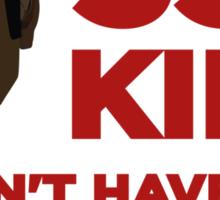 Delivery Man 2013 Sticker
