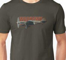 Vintage Look Curtis P-40 Warhawk Fighter Bomber Plane Unisex T-Shirt