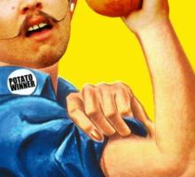 WE CAN POTATO! #potatowinner Sticker