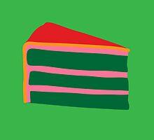 Pop Art Cake - green by digestmag