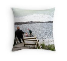 By the Sea in Southern Denmark Throw Pillow