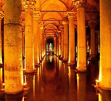 Istanbul Cistern by Rob Chiarolli