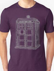 Timey Wimey Blue Box T-Shirt