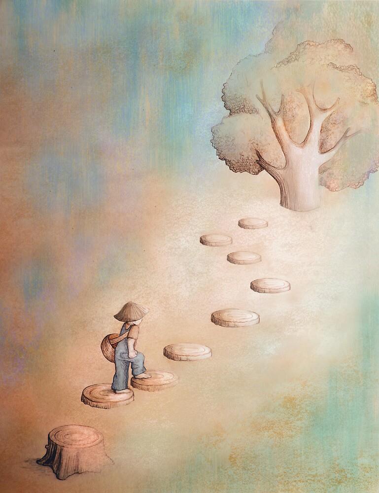 Climbing a Tree by miralina