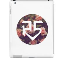 Floral R5 Logo iPad Case/Skin