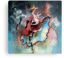 French Kankan Metal Print