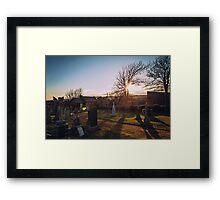 St. Andrews Cemetery Framed Print