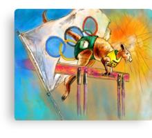Olyver Canvas Print