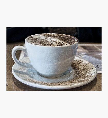 """Cappuccino Delight"" Photographic Print"
