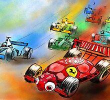 The Ferrari Turtle by Goodaboom