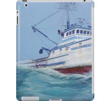 F/V Northwestern iPad Case/Skin